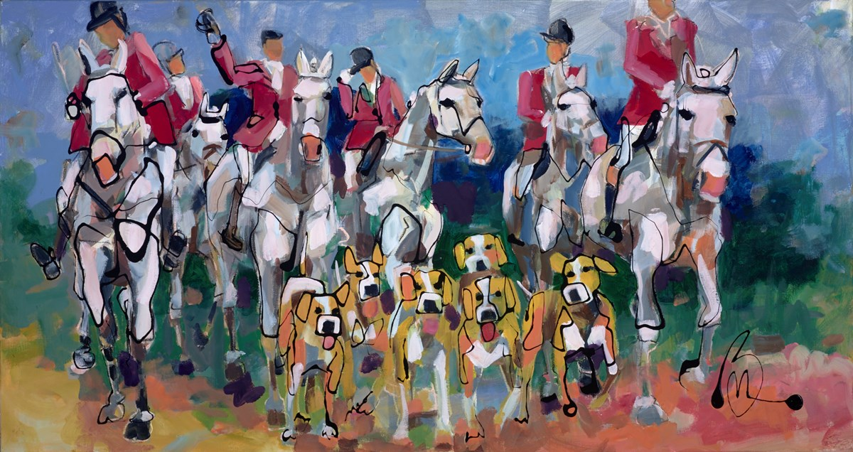 Noble by marieke bekke -  sized 59x32 inches. Available from Whitewall Galleries